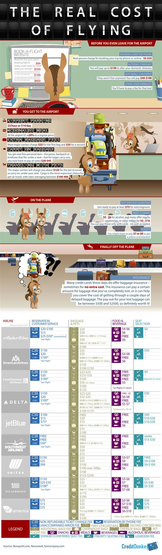 Infographics: Real Cost of Flying