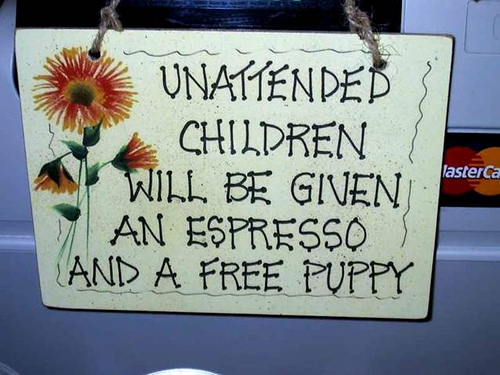 Parents, you have been warned!