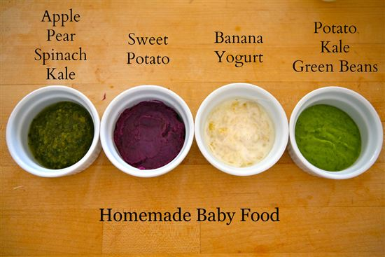 Homemade Baby Food | The Dabblist