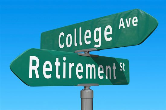 Crossroads: Retirement or College Fund