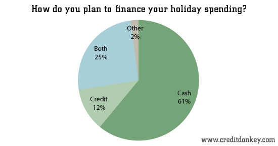 How do you plan to finance your holiday spending?