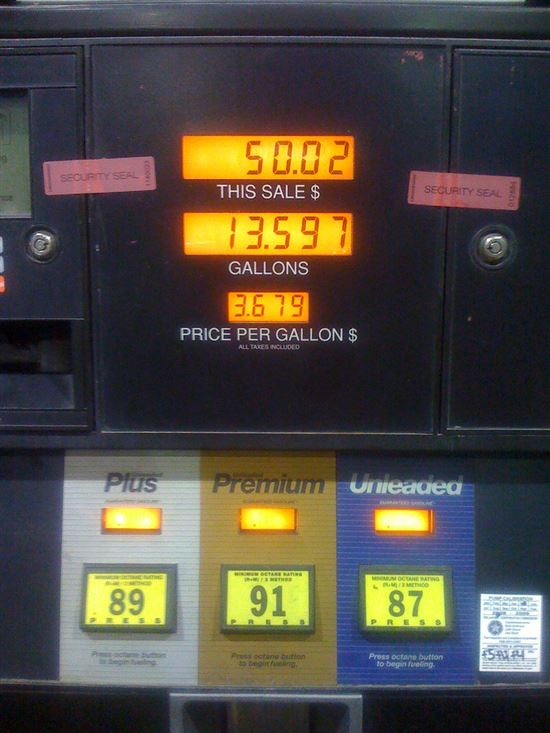 Expensive Gasoline