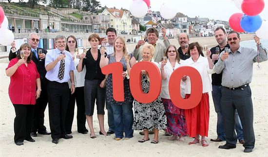 Celebration: 100 National Lottery Millionaires In The South West