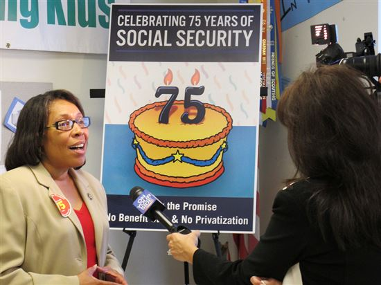 Social Security Roundtable With Rep. Fudge