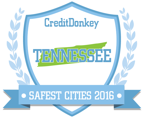 Safest Cities in Tennessee 2016