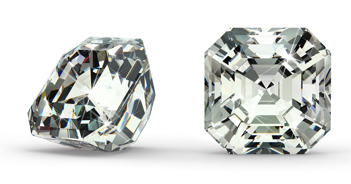 Asscher Cut Diamond Good For Engagement Rings