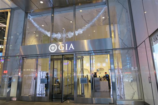 GIA Lab at New York Diamond District