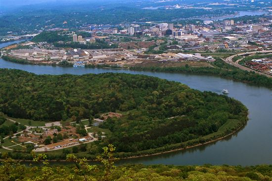 Moccasin Bend and Chattanooga