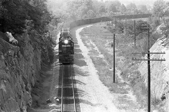 Coal Train at Johnson City