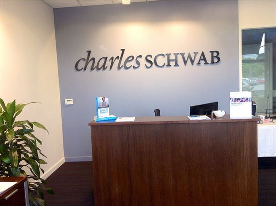 Charles Schwab, Manchester, CT, 7/2014  by Mike Mozart of TheToyChannel and JeepersMedia on YouTube.