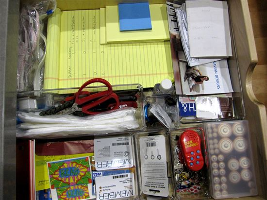 junk drawer organized!