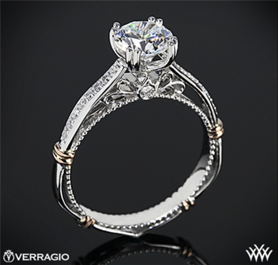 THE INTRICATE PARISIAN-INSPIRED ENGAGEMENT RING FROM VERRAGIO