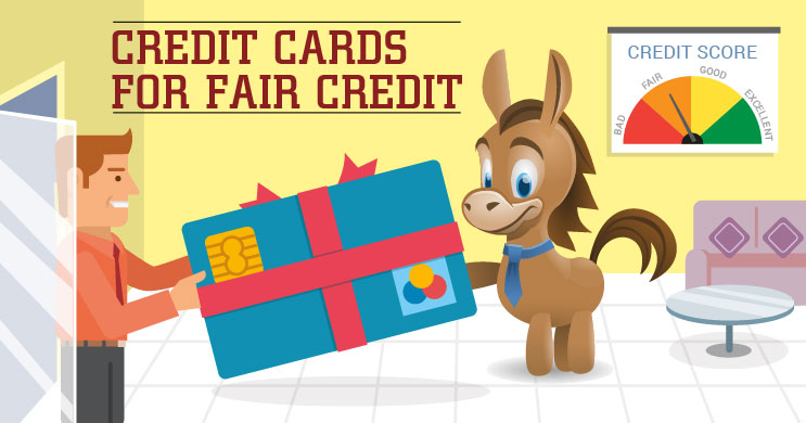 Credit Cards For Fair Credit >> Best Credit Cards For Fair Credit Top Offers For 2019