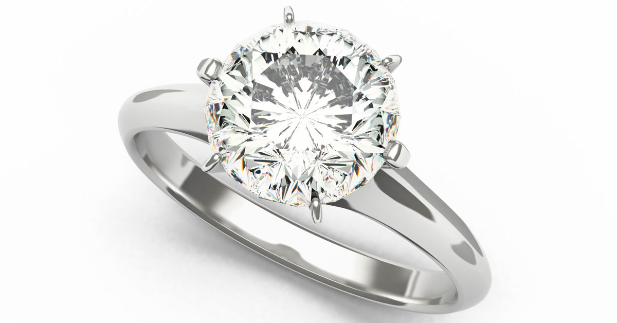 ring engagement attachment wedding solitaire rated beautiful teardrop cz of bridal top rings