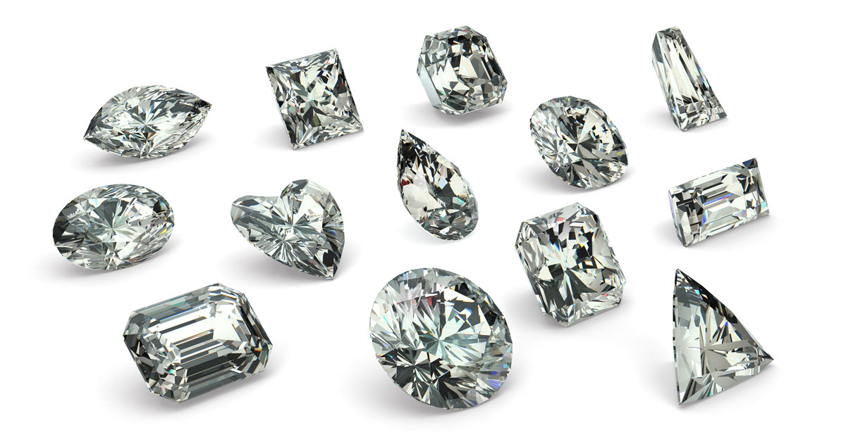 fa8853cb7658 Diamond Shapes  Most Popular Diamond Cuts and What Works Best