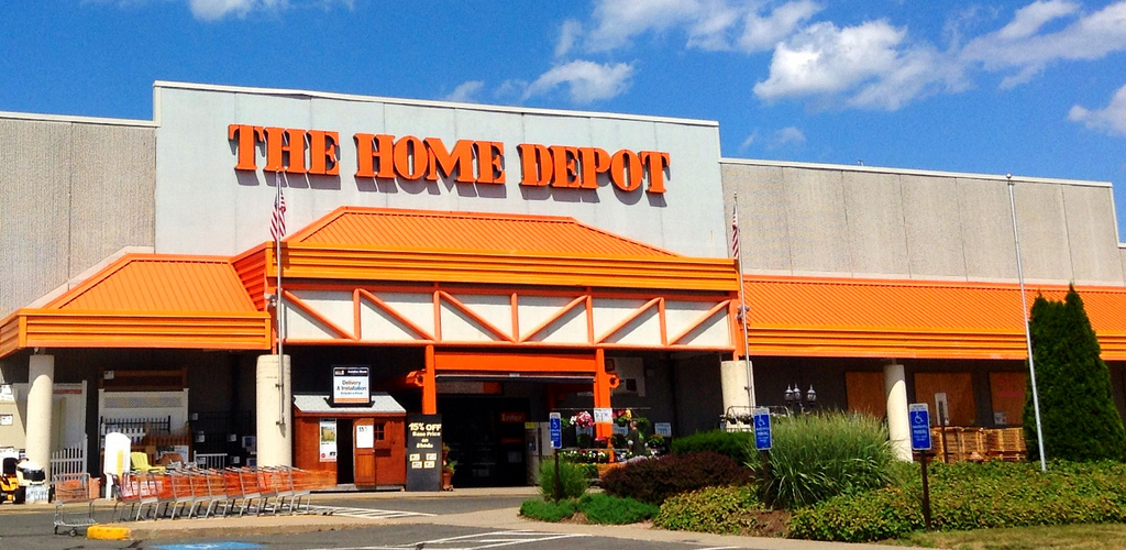Apply for a home depot project loan