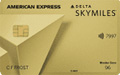 Gold Delta SkyMiles Credit Card from American Express